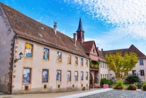 Autour de Strasbourg - Porte fortifiée à Rosheim © French Moments