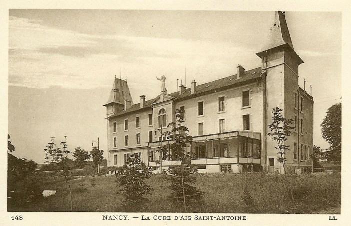 La maison de convalescence dans les années 1900