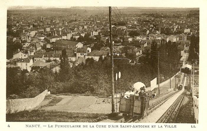 Le funiculaire de la Cure d'Air dans les années 1900