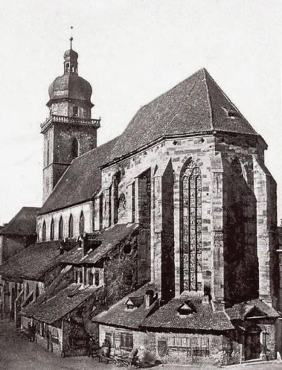 L'ancien temple Saint-Etienne à Mulhouse