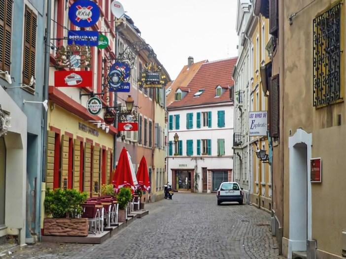 Découvrir Mulhouse : La rue des Franciscains © French Moments
