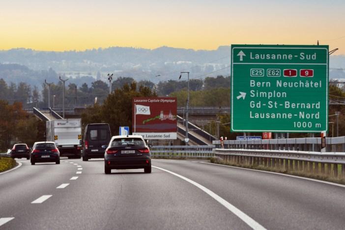 Autoroute suisse Lausanne © French Moments
