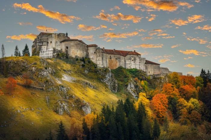 Le château de Joux © French Moments