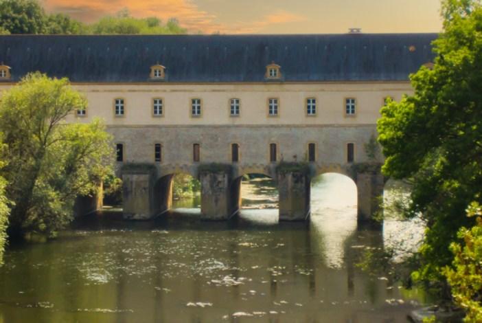 Pont-écluse de Thionville. Photo Domaine Public