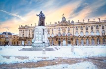 Nancy sous la neige © French Moments