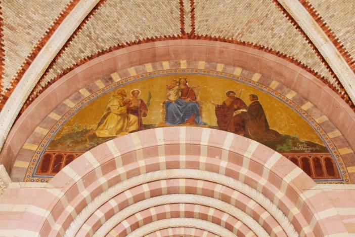 Fresques du narthex de la cathédrale de Spire © José Luiz Bernardes Ribeiro - licence [CC BY-SA 4.0] from Wikimedia Commons