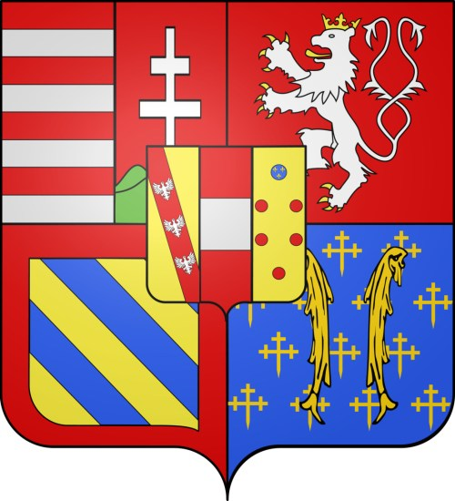 Blason de Léopold II de Habsbourg-Lorraine © Odejea - licence [CC BY-SA 3.0] from Wikimedia Commons