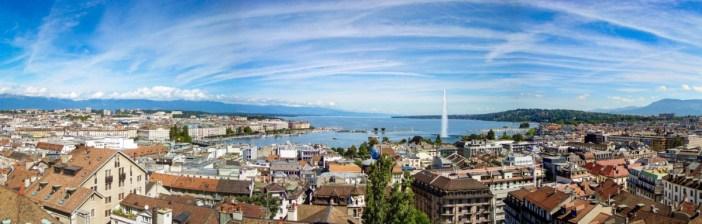 Vue générale de Genève. Par Christoph Rohner [Domaine Public]