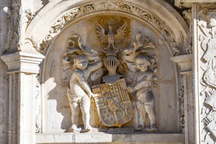 Armoiries des ducs de Lorraine, Palais ducal de Nancy © French Moments