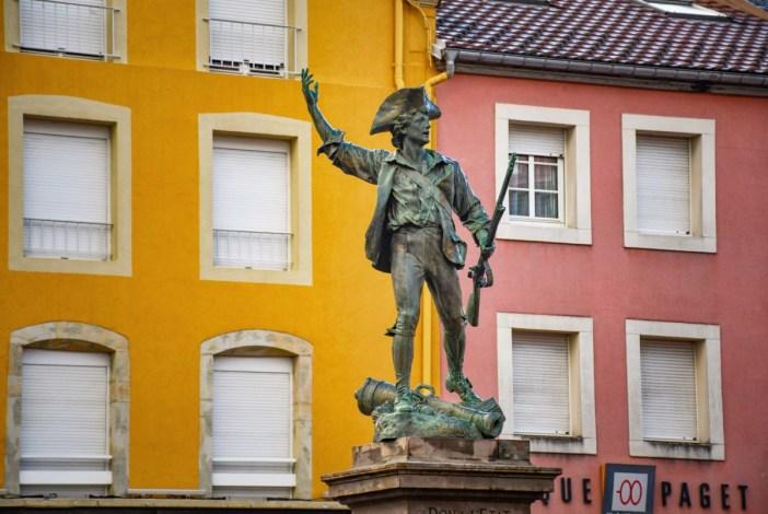 La statue du Volontaire de 1792 © French Moments