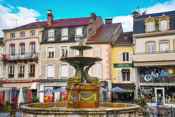 Remiremont - Place De Lattre de Tassigny © French Moments