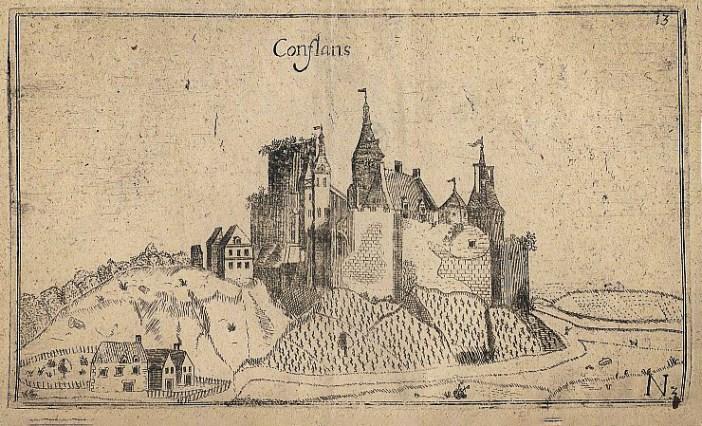 Le château-fort de Conflans