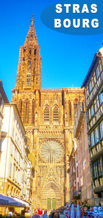 Façade la cathédrale de Strasbourg - Pinterest © French Moments
