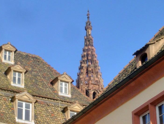 Flèche de la cathédrale de Strasbourg © French Moments