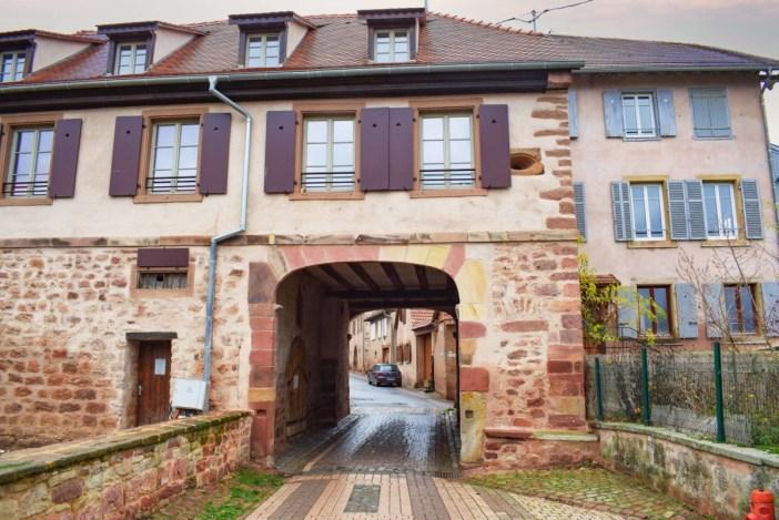 Portes fortifiées d'Alsace - Niedertor à Wangen © French Moments