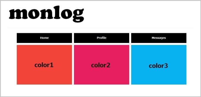 「jQueryでマウスが乗った時に色や画像を変更する」デモサイト