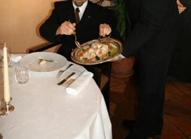 service à la française