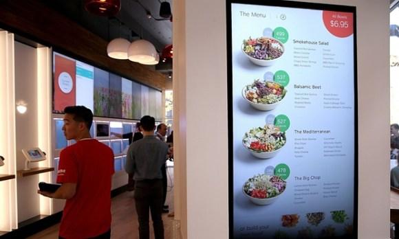 tablette tactile restaurant