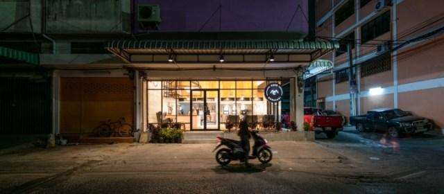 façade café