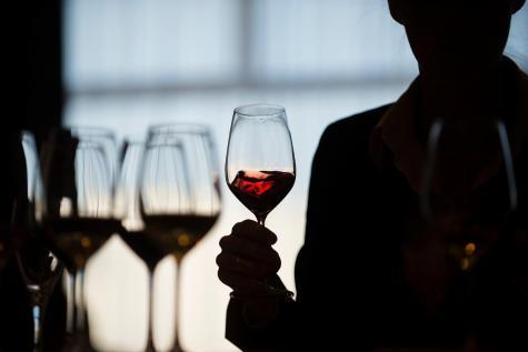 dégustation de vin à l'aveugle