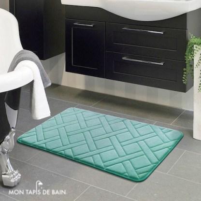 tapis de bain aqua rectangulaire