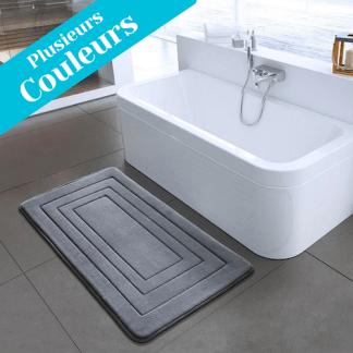 tapis de bain design rectangle
