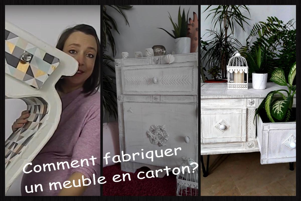 Image De Meuble En Carton comment fabriquer un meuble en carton? - mon univers déco