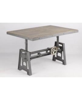 Edison Table Basse 100 Cm Industrielle Monachatdeco Com