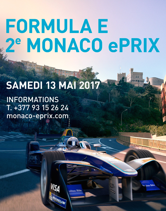 Monaco Formula E 2017 Affiche_ePrix2017