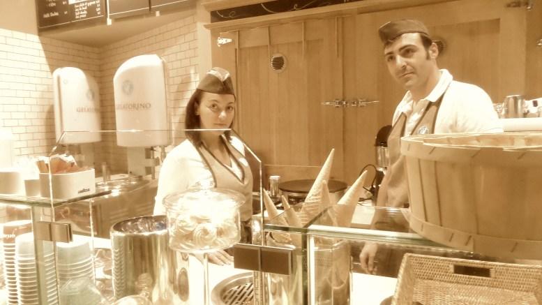 Il gelato italiano, alle nocciole piemontesi, al gianduiotto ecc. protagonista a Monte Carlo.
