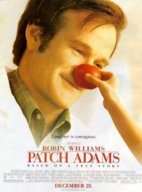 """Il rapporto tra medico e paziente al centro del film """"Patch Adams"""" con Robin Williams"""