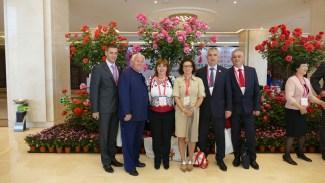 Monaco Roseto Cina Delegazione Roseto Monaco A Pechino Rose Pekin DelegationMC