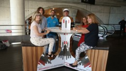 Ricaricare Le Batterie pedalando nella Stazione Di Monaco