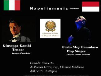 Napolinmusic: evento patrocinato dall' Ambasciata D'italia nel Principato di Monaco