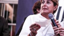 Isabelle Berro-Amadei Ambasciatore di Monaco in Germania durante la presentazione della Destinazione Monaco in Baviera