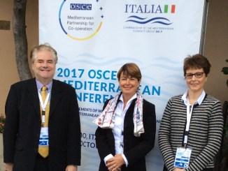 Conferenza Osce a Palermo del 24-25 Ottobre 2017, la delegazione monegasca