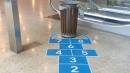 Gettare i rifiuti diventa un gioco nella stazione di Monte Carlo ft.©MSGD