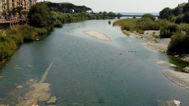 Ventimiglia: un'immagine del Fiume Roja