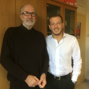 Il Sindaco di Ventimiglia Enrico Ioculano e l'assessore al Bilancio Franco Faraldi