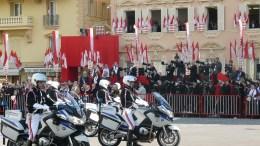 Monaco: un momento della Festa Nazionale monegasca