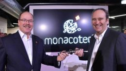 Il Principe Alberto di Monaco all'inaugurazione di MonacoTech Ft.©Dir.Communication Charly Gallo