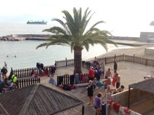 Il Bagno Di Natale del 2017 a Monte Carlo a profitto dei bambini meno fortunati.