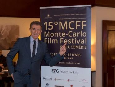 Ezio Greggio presenta il 15esimo Monte Carlo Film Festival della Còmedie. Ft.by webstudio06