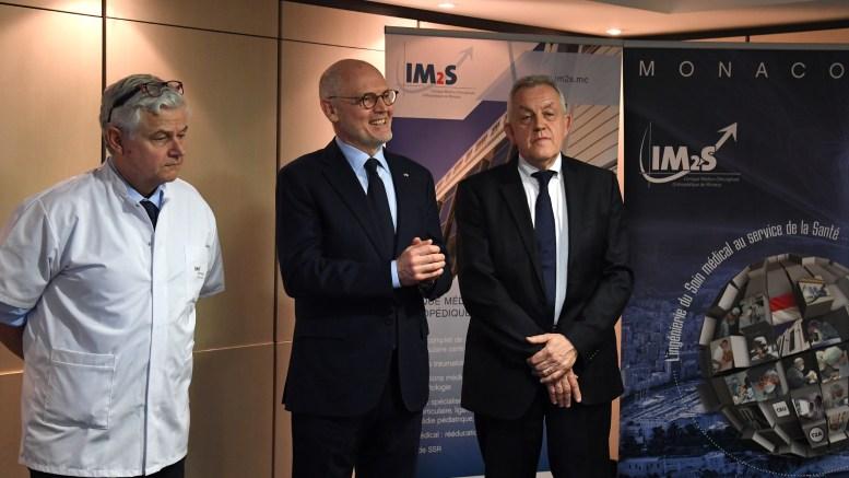 Visita del Ministro di Stato Telle all'Istituto Monegasco di Medicina dello Sport IM2S Ft.©Manuel Vitali Dir. de la Communication
