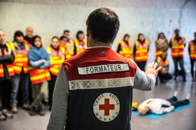 Croce Rossa Monegasca: giornata di formazione per volontari e soccorritori Ft.©Philippe Fitte