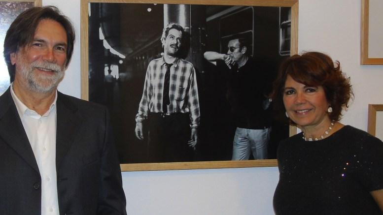 Pane e cioccolata con Nino Manfredi suscita a Monte Carlo risate e commozione, nela foto Roberta Manfredi e Alberto Simone Ft©arvalens