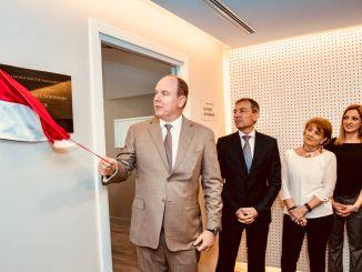 Monaco: Inaugurazione dei Nuovi Locali dell'Ufficio di Medicina del Lavoro