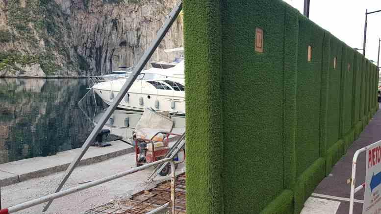 A Monaco si Testano le Barriere Antirumore