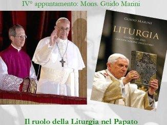 Monsignor Guido Marini Maestro delle Celebrazioni Liturgiche di Papa Francesco a Ventimiglia