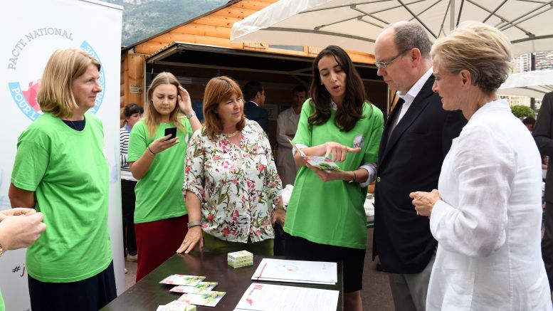 Il Principe Alberto visita l'Eco-villaggio Monacology Ft©Manuel Vitali/Dir.Comm.